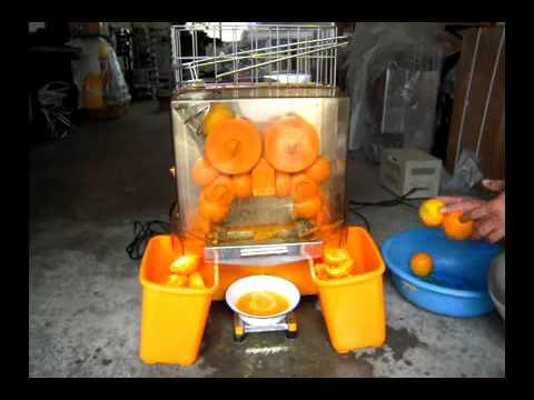 Automatic Citrus Juicer Commercial Orange Juice Machine