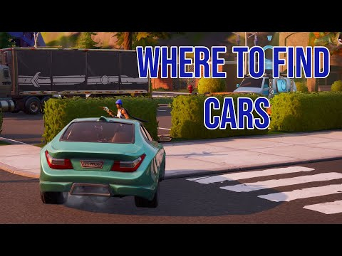 Where To Find Vehicles And How To Drive Them In Fortnite Chapter 2
