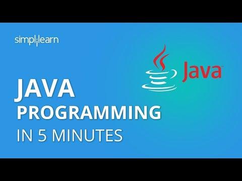 Java In 5 Minutes | What Is Java Programming? | Java Programming For Beginners | Simplilearn