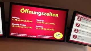 1/2 Cómo son los cines en Alemania?