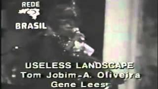 """Ella Fitzgerald Sings Jobim's """"Useless Landscape"""" in 1971 in Sao Paulo"""