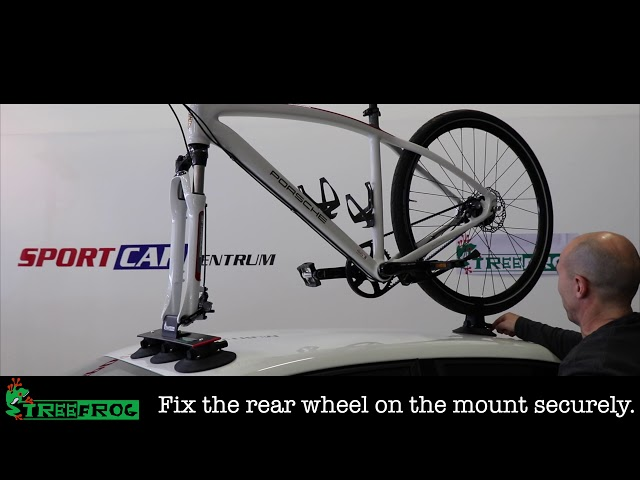 Видео Крепление на крышу Tree Frog Model Elite 1 Bike Cycle Carrier Rack
