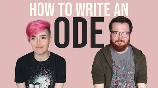 How to Write an Ode with Callum Wensley | NaPoWriMo