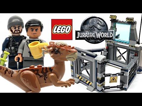 LEGO Jurassic World Stygimoloch Breakout review! 2018 set 75927!