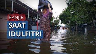 Banjir di Samarinda saat Lebaran Idulfitri, 8 Kelurahan Terendam