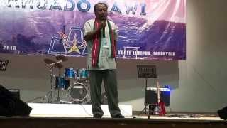 Rev  Fr  Robert Kam Hau Thugenna Khuado Pawi Malaysia 2013
