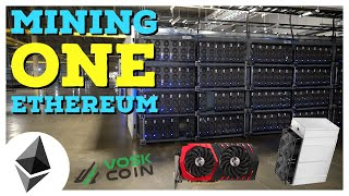 What Do YOU Need to MINE ONE ETHEREUM In 2020?!
