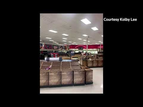 Long lines and empty shelves amid Texas storm