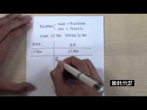 Video Perbedaan menabung di Asuransi dan menabung biasa