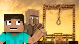 NOOB CONSTRUYE UNA HORCA PARA MATAR ALDEANOS | Minecraft Videos