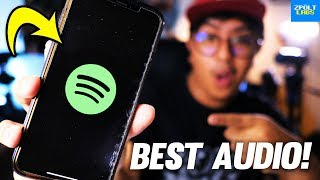 Top 5 SPOTIFY Tips for BETTER AUDIO QUALITY!