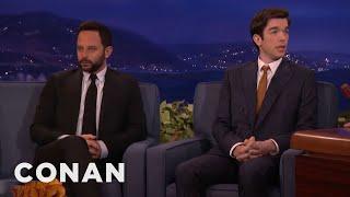 Conan Repairs Nick Kroll & John Mulaney's Friendship | CONAN on TBS