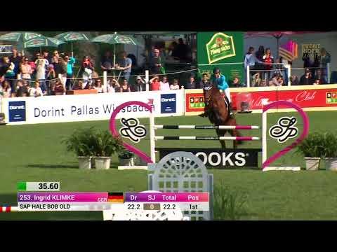 Ingrid Klimke Show Jumping Leg 2 Wiesbaden 2018