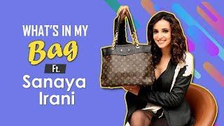 What's In My Bag With Sanaya Irani | Fashion | Ghost | Koimoi