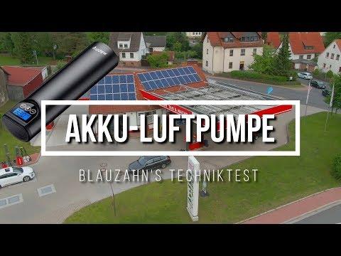 Post aus China! Akku-Luftpumpe - Schrott oder Hot?