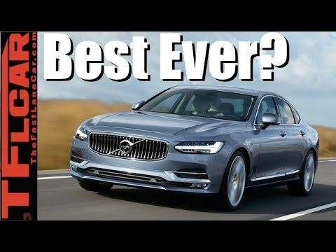 2017 Volvo S90 T6 Review: Is This the Best Volvo Sedan Ever Built?