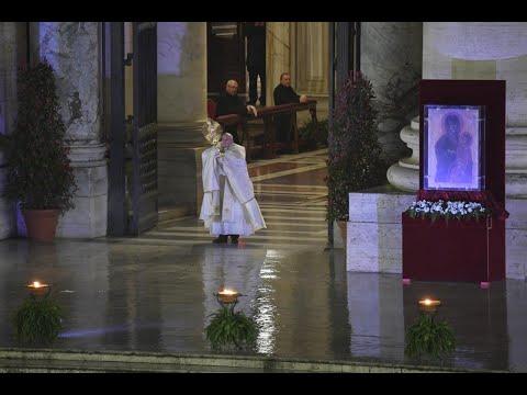 Trực tiếp : Đức Thánh Cha Phanxicô - Phép lành toàn xá Urbi et Orbi (Thứ Sáu 27/03/2020)