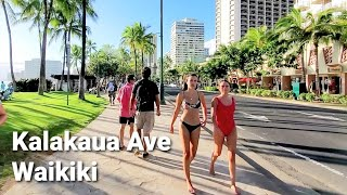 Waikiki is Busy Again!! | Hawaii Walker | Walking Tour | Oahu, Hawaii | Vacation in Waikiki