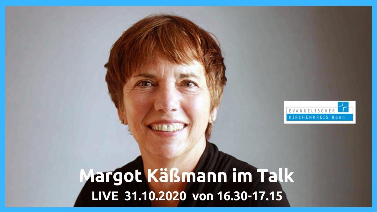 Auch live im Internet: Margot Käßmann im Bonner Talk über die Sorgen und Herausforderungen in der Corona-Zeit