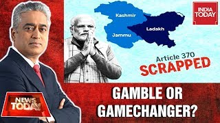 Article 370 Scrapped: Modi's Mission Kashmir Well Thought Out? | News Today With Rajdeep