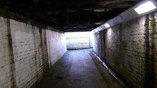 preview picture of video 'The Tunnel....leading to the straight ( old gasworks) southall - UB2...'