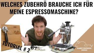 La Pavoni #2: Zubehör rund um die Maschine - das braucht man um den perfekten Espresso zu machen.