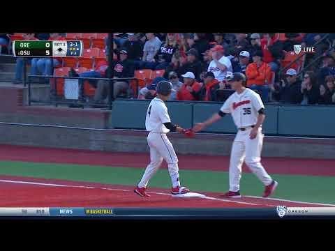 Oregon State Baseball Game Highlights: 4/21/18 vs. Oregon