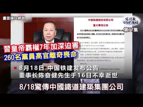 【思打廢-STOP FAKE】第77集 中共260名黨籍高官離奇死亡