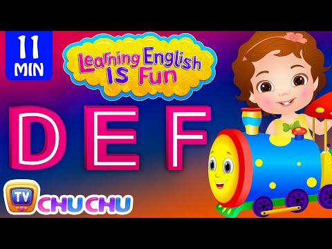 Learning English Is Fun™ | DEF Songs | ChuChu TV Preschool English Language Learning For Children