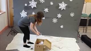 Watch me build my Snowtime Shoot Set-up from scratch!