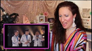 Vocal Coach REACTS to ARIANA GRANDE surprises the TNT BOYS on The Late Late Show