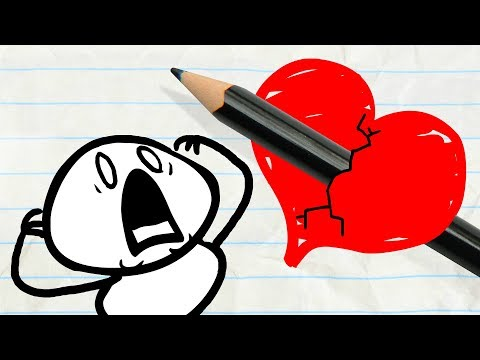 Pencilmate Finds Sweet LOVE! -in- Pencilmation VALENTINE'S DAY Compilation! – Cartoons for Kids