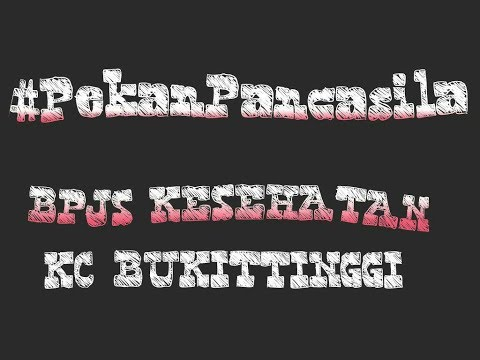 Pekan Pancasila BPJS Kesehatan KC Bukittinggi tahun 2017