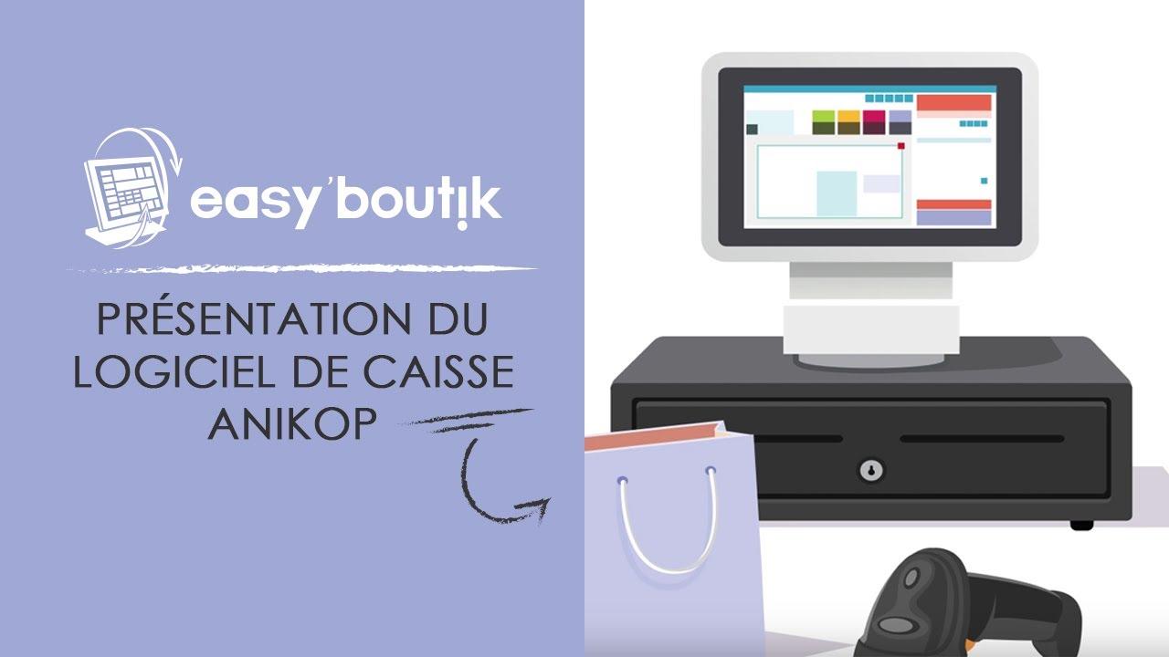 Image YouTube Présentation du logiciel de caisse Anikop