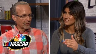 Hailie Deegan opens up about racing career with Kyle Petty (FULL INTERVIEW)   Motorsports on NBC
