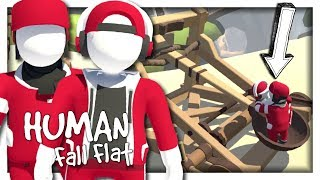 ON SE FAIT CATAPULTER ! | HUMAN FALL FLAT CO-OP EPISODE 3 NINTENDO SWITCH FR