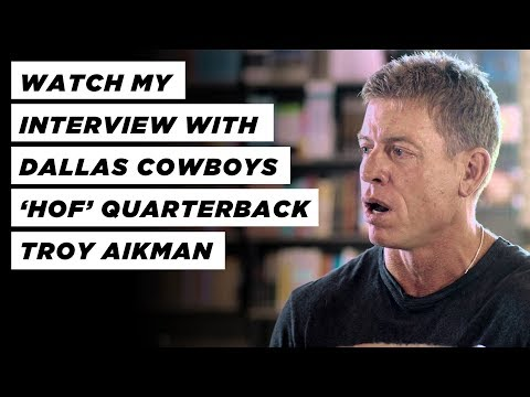 Unique Interview - Dallas Cowboys 'HOF' Quarterback Troy Aikman w/ Ed Young