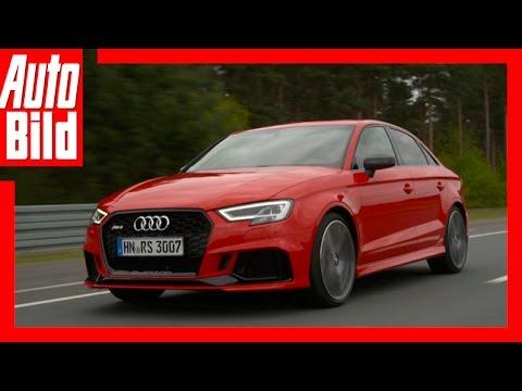 Audi RS 3 Limousine - Ein Stufe schneller (2017) Fahrbericht / Review