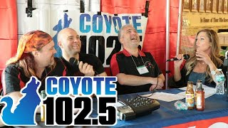Clifton Chilli Club - Radio Interview with Coyote 102.5 fm