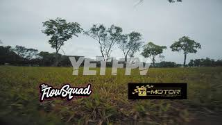 One Pack RAW fpv freestyle almost got stuck in the tree | YETfpv