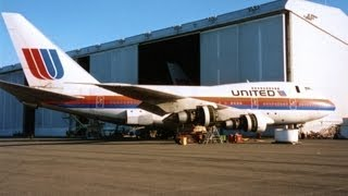 United Airlines Oakland 1990's