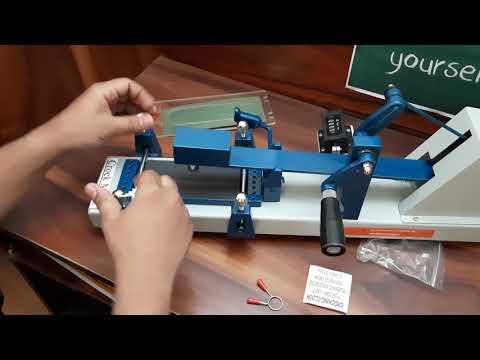 Manual Crockmeter