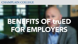 The benefits of the truED Alliance Program to employers thumbnail image