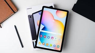 Samsung Galaxy Tab S6 Lite Unboxing & Erster Eindruck   Deutsch