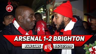Arsenal 1-2 Brighton | Pepe Came On & Changed The Game!! (Livz)