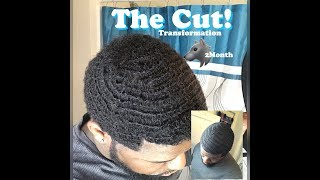 Finally Cut The 2 Month Wolf! SelfCut 360 540 Waves