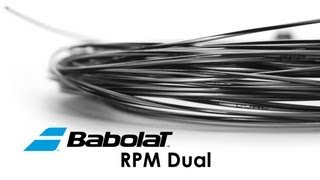 Babolat RPM Team String 200m video