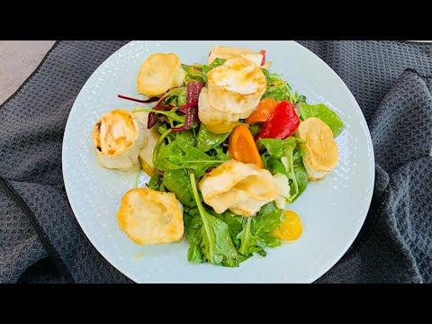 Salát s kozím sýrem a hruškou | Miele CS 7632 FL