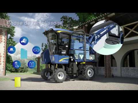 New Holland Blue Cab 4 pour machines à vendanger Braud