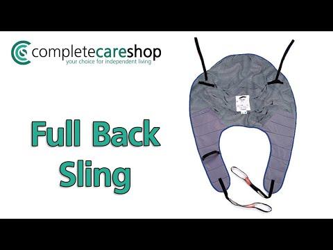 Demonstration of Full Back Padded Sling